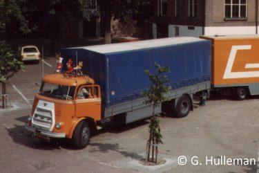 Daf en aanhanger 1983