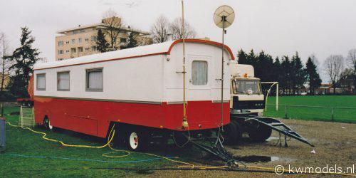 Woonwagen Trommelen Enschede 1995