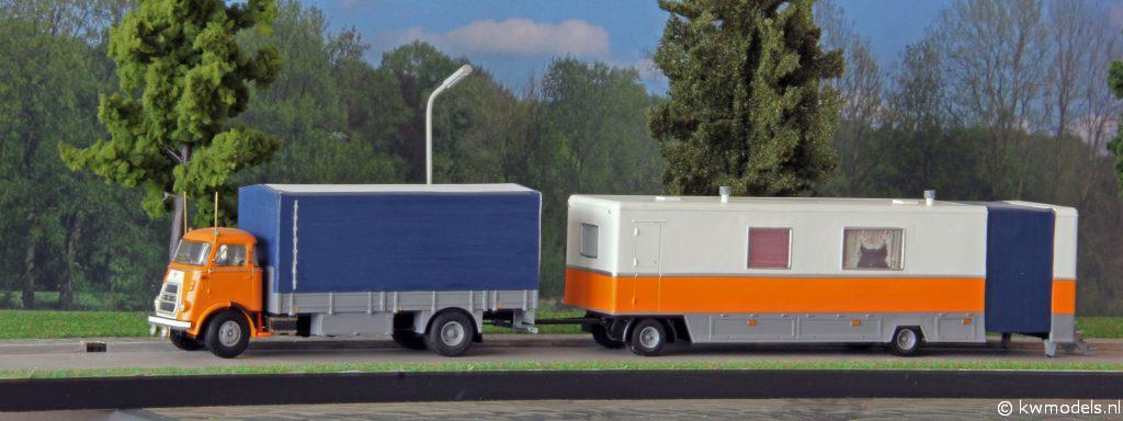 DAF Gigengack met woonwagen