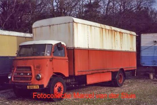 Leander DAF 1600 exploitantenterrein Breda 2001 ZB-45-78