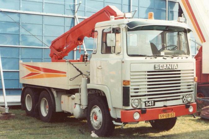 Scania Ranger de Vries
