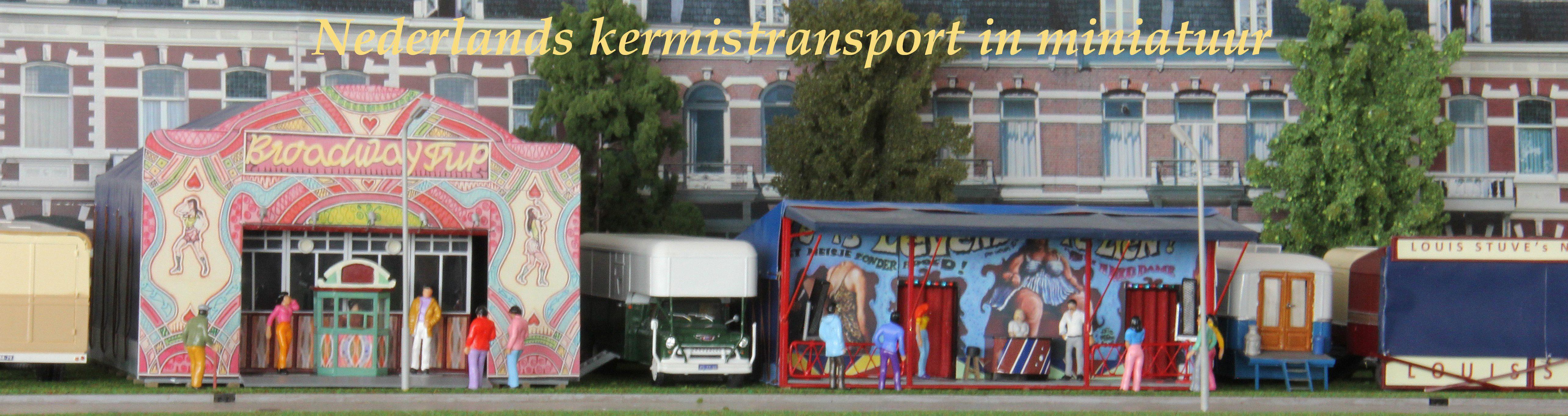 Nederlands kermistransport in miniatuur