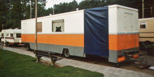 woonwagen Gigengack 1983 later van Geven Grand Carrousel