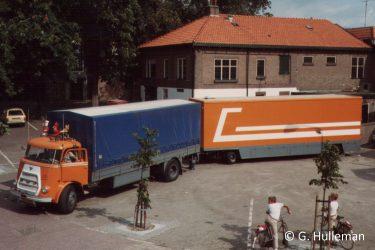 Daf en pakwagen Gigengack Wijhe 1983